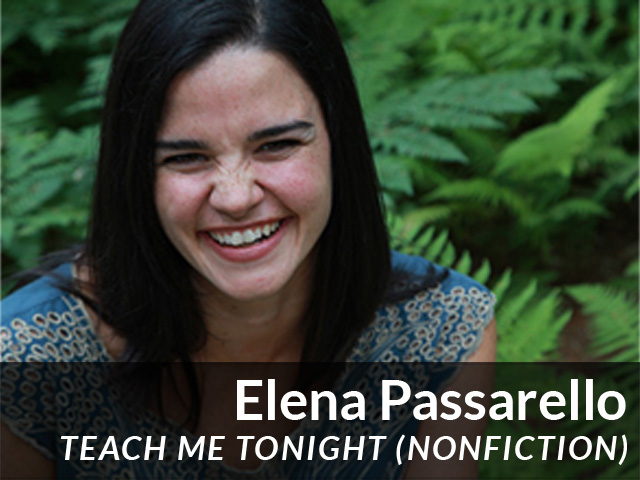 Elena Passarello: Teach Me Tonight