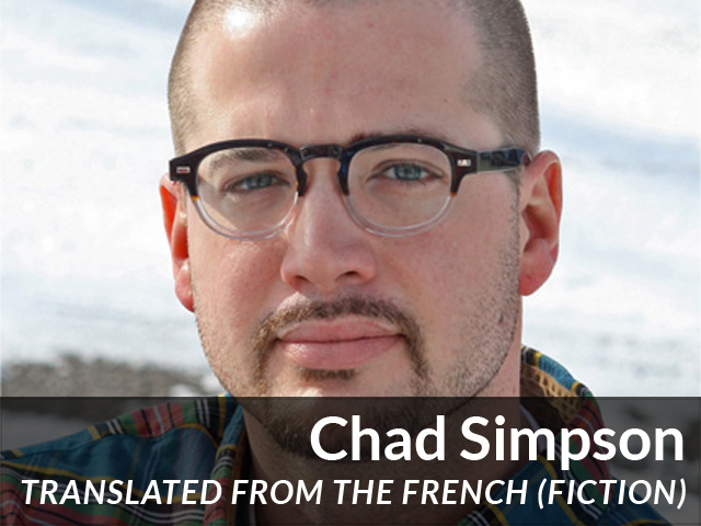 Chad Simpson: Translated from the French