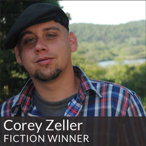Fiction Winner Corey Zeller