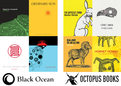 covers for Black Ocean Press and Octopus Books